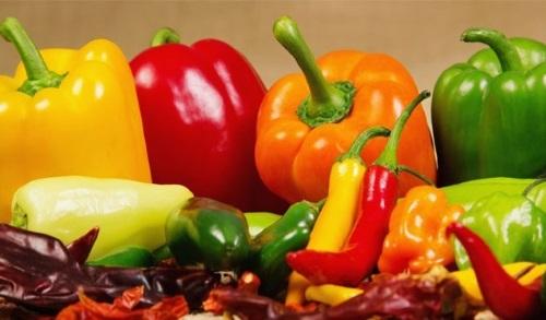 Aromi e sapori: Peperone verde
